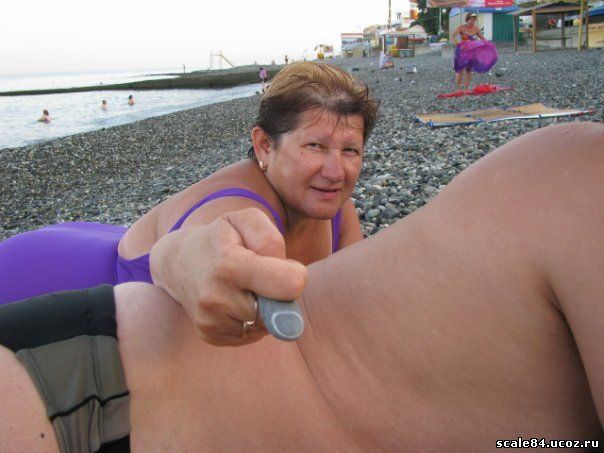 тётя Лена и камень-палец